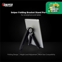 Sniper Folding Bracket Stand Portable for Smartphone and Notebook