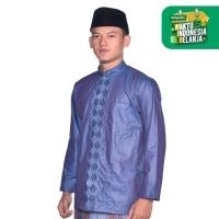 Baju Muslim ATLAS Universal TRP Biru