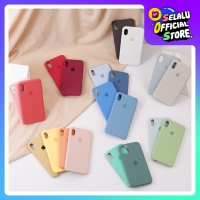 ORI APPLE SILICON - FULL COVER, ANTI KOTOR for iPHONE 6 7 8 X 11