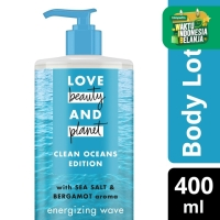 Love Beauty And Planet Body Lotion Sea Salt Energizing Wave 400Ml
