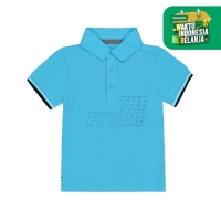 Mothercare blue future polo shirt Blue