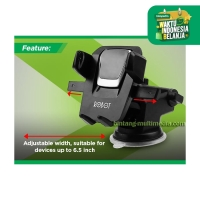 Car Holder Mobil Robot RT-CH03 360 Rotatable Bracket Stand HP GPS