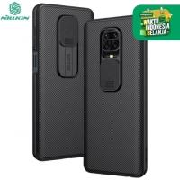 Nillkin Camshield Case Xiaomi RedMi Note 9 Pro - Casing Black Soft