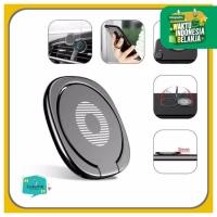 Iring / I-Ring Handphone / Cincin Hp /Stand Desk Holder replika Baseus - Gold