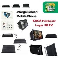 GEN F2 Kaca Pembesar Layar HP Enlarge Screen Mobile Phone Enlarged New
