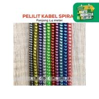 Pelilit Kabel Spiral Warna Metalic / Pelindung Cable Hp Charger