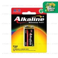ABC Alkaline Batre 9 Volt 6LR61 / Baterai 9V