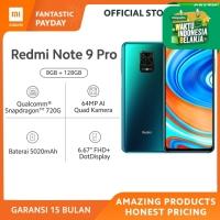 Xiaomi Official Redmi Note 9 Pro 8/128 GB Garansi Resmi Mi Smartphone - Aurora Blue