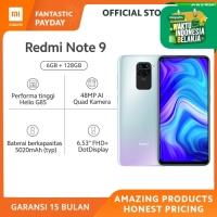 Xiaomi Official Redmi Note 9 6/128 GB Garansi Resmi Mi Smartphone