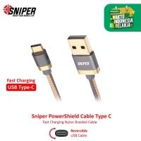 Sniper PowerShield Type C 3ft/0.9m - Gray