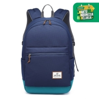Navy Club Tas Ransel Pria Kasual FCIJ -Backpack Daypack up to 14 inchi