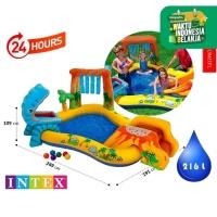 Kolam Renang Anak Dinosaur Kids Play Center Swimming Pool INTEX 57444