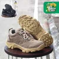 SEPATU BOOTS PRIA SAFETY ANKLE CLADICO SKYWAY CREAM HITAM