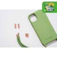 Green Case dengan Green Strap iPhone dan Samsung