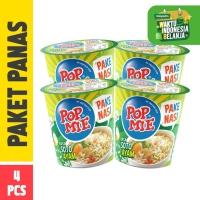 Pop Mie Panas (PAke NAsi) Rasa Soto Ayam 4 Pcs - 300gr