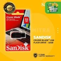 Flashdisk Sandisk 32GB Original Cruzer Blade CZ50