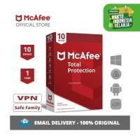 McAfee® Total Protection™ Antivirus ORIGINAL [10 Device -1Year]