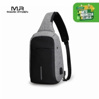 Mark Ryden MR5898 Crossbody Shoulder Bag - Tas Selempang Sling - GRAY