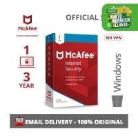 PROMO !!!! McAfee Internet Security 1 DEVICE 3 YEAR FOR WINDOWS ONLY