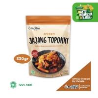 Mujigae Jajang Topokki - Kue Beras dengan Saus Kedelai Hitam 350 gr