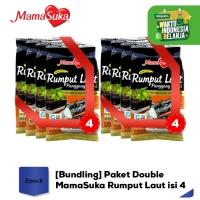 [Bundling] Paket Double MamaSuka Rumput Laut isi 4 - 2 pack