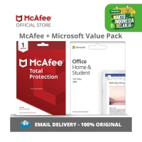 McAfee Total Protection and OHS 2019 for PC (1 Device, 1 Year)