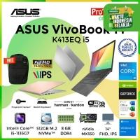 LAPTOP ASUS VIVOBOOK K413EQ i5-1135G7 8GB 512GB MX350 2GB 14 OHS W10
