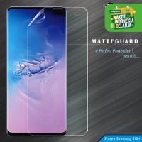 9Skin Matte Guard Ultra MGU FULL Screen Guard Samsung S10 Plus-1 Side