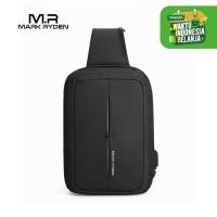 Mark Ryden MR7011 Crossbody Shoulder Bag - Tas Selempang Sling - Black