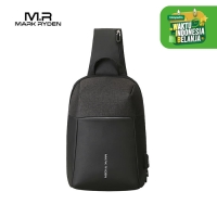 Mark Ryden MR7000 Crossbody Shoulder Bag - Tas Selempang Sling - BLACK
