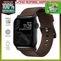Apple Watch Strap 42mm & 44mm Nomad Horween Leather Modern Black