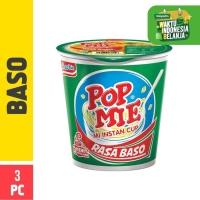 Pop Mie Kuah Rasa Baso 3pcs 75g (Mitra)