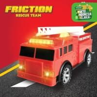 Happy Truck Frictions PEMADAM - Mainan Mobilan Anak - Mobil Mobilan