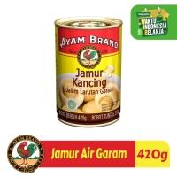 Jamur Air Garam Kaleng Ayam Brand 420gr