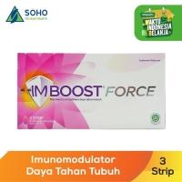 Imboost Force Daya Tahan Tubuh - 3 Strip @10 Kaplet