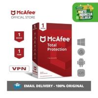 McAfee Total Protection Antivirus ORIGINAL [1 Device - 1 Year]