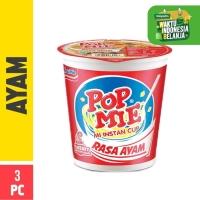 Pop Mie Kuah Rasa Ayam 3pcs 75g (Mitra)