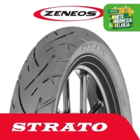 Ban Depan & Belakang Motor Zeneos 100/80-14 STRATO Tubeless Honda PCX
