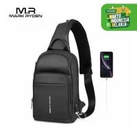 Mark Ryden MR7618 Crossbody Shoulder Bag - Tas Selempang Sling - BLACK