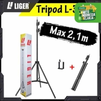 Tripod L-3121 Photograph Light Stand Full Besi Portable with Holder U