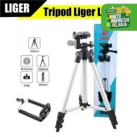 Liger Tripod L-3110 - Tripod HP dan Kamera Universal + Free Holder U
