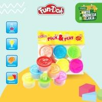 Fundoh Pick And Play - Mainan Anak - Mainan Edukasi - Mainan Lilin