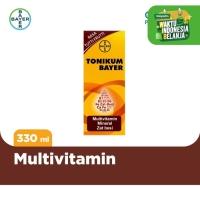 Tonikum Multivitamin, Mineral, dan Zat Besi Rasa Tutti Frutti 330ml