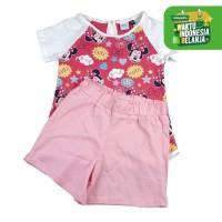 KIDS ICON - Baju Setelan Anak Bayi Perempuan Disney - MG7K0100190 - 3-6 Bulan