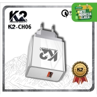 Adaptor Charger K2-CH06 K2 PREMIUM QUALITY Fast Charging Qualcomm 3.0