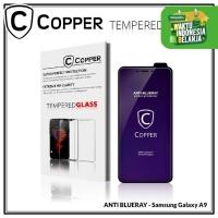 Samsung A9 - COPPER Tempered Glass ANTI-BLUERAY (Full Glue)
