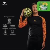Tiento Baselayer Rashguard Compression Long Sleeve Sumatran Tiger - S