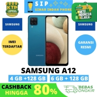 Samsung Galaxy A12 6/128 Garansi Resmi SEIN 1 Tahun