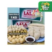 Pempek Asli Palembang Pempek Lala Palembang Isi 40 pcs A [Packing