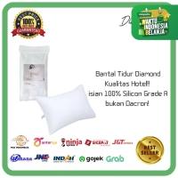 (S) BANTAL TIDUR HOTEL Diamond 100% Silicon Grade A Bukan Dacron!